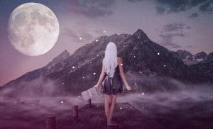 Sonnenmann und Mondfrau