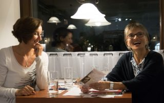Andrea Maier und Ingrid Kleber