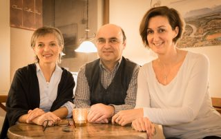 Ingrid Kleber, Wolfgang Rendl, Andrea Maier