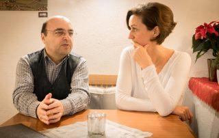 Rendl und Maier im Gespräch