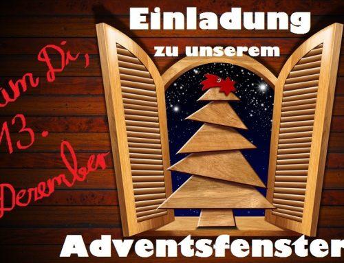 Gemütliche Adventsfenster-Lesung!