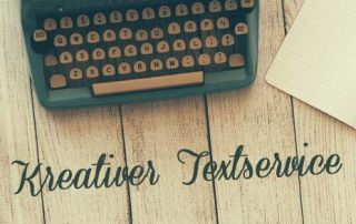 kreativer Textservice