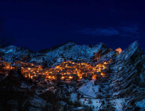 Die Stadt am Berg